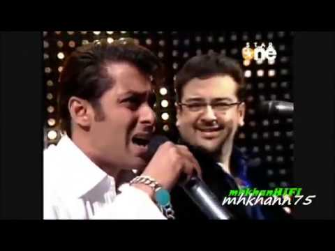 salman khan frist  singing song real trust me about