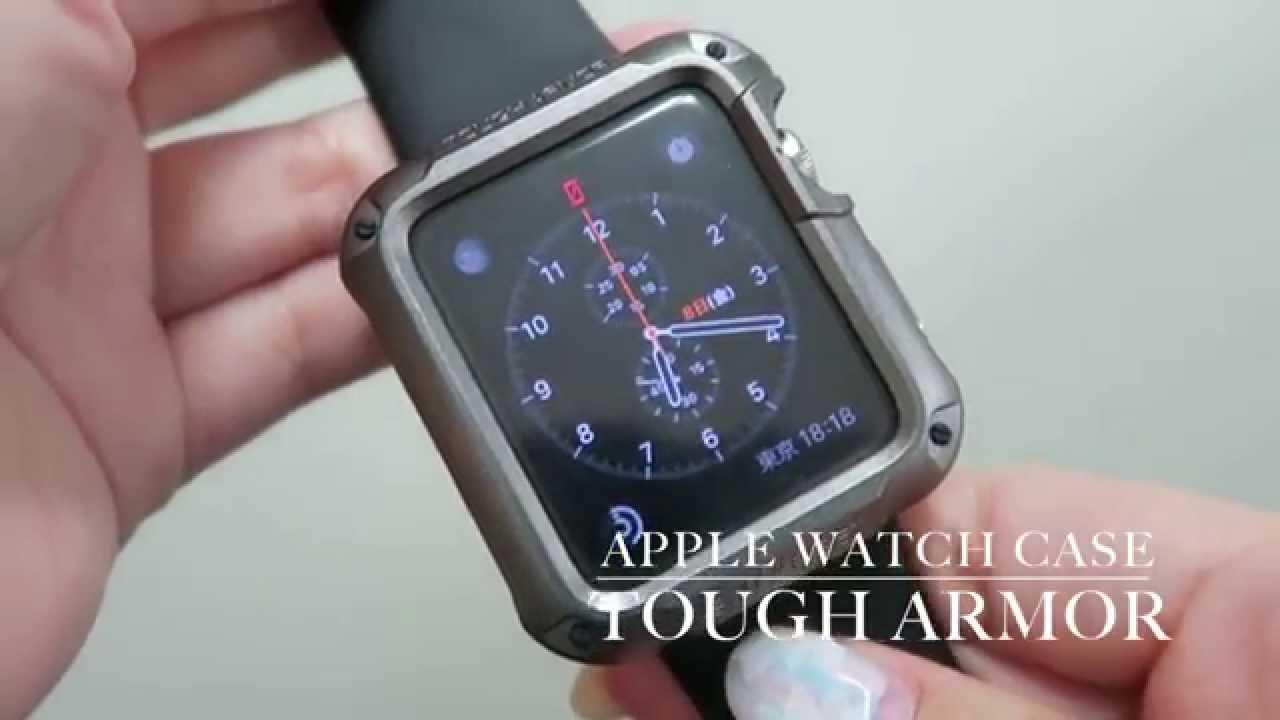 Apple Watch ケース タフアーマー Youtube