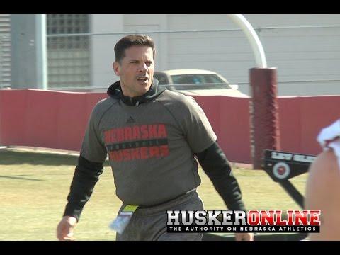 HOL HD: Nebraska Football Spring Practice #1 Sights & Sounds
