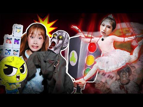 [Sinbi Apartment Collection] Jini fighting the ghosts of Sinbi Apt.!! Pretend Play