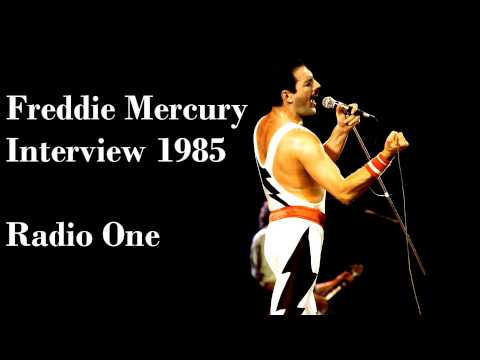 Freddie Mercury Interview on Radio One 1985