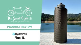 A lightweight and foldable water bottle - Hydrapak Flux 1L Flexible Water Bottle Review
