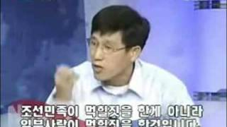 친일비판자는 좌익?? 지만원씨와 진중권 교수의 토론