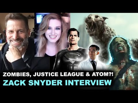 Download Zack Snyder Interview - Army of the Dead Trailer & Zombies, Justice League #RestoreTheSnyderVerse