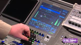 Roland M-5000 Digital Live Mixing Console - User Interface Workflow | Full Compass