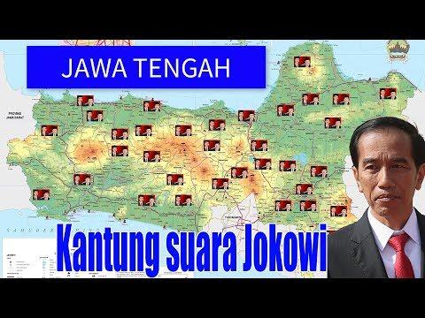 Jawa Tengah Lumbung Suara Jokowi Pilpres 2014
