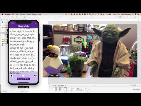 Make Yoda Speak (or anything else) Using a Raspberry Pi and