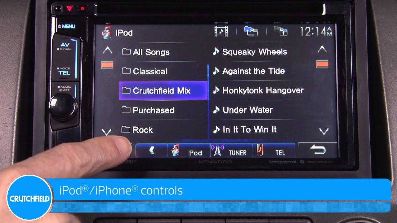 Kenwood ddx372bt display and controls demo crutchfield video youtube swarovskicordoba Images