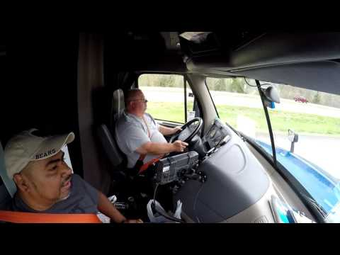 PSD - Truck Driver Trainee - First Time Driving A Truck