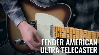The American Ultra Telecaster is Fender's most advanced Tele yet! | Guitar.com