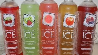 Sparkling Ice Cherry, Kiwi Strawberry, Grapefruit, Apple, Pomegranate Blueberry Review Part Ii