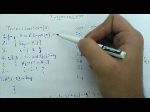 Insertion Sort (Time Complexity-part 2) thumbnail