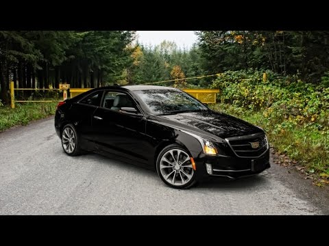 2015 Cadillac Ats Coupe 3 6 Car Review Youtube