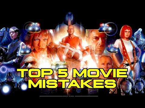 Top 5 Movie Mistakes - THE FIFTH ELEMENT (1997)