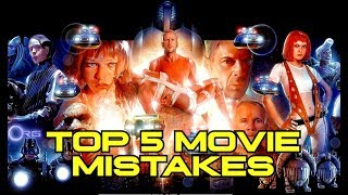 Top 5 Movie Mistakes - THE FIFTH ELEMENT (1997) thumbnail