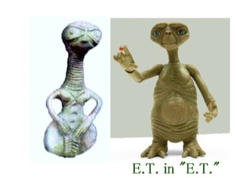 2386(4)ET Phone Home・ETs in Prehistory Period太古の昔にやってきたETたちbyはやし浩司Hiroshi Hayashi, Japan