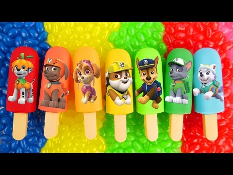 Thumbnail: Best Learning Colors and Letters Video for Children Play Doh Body Paint Paw Patrol Cookie Monster