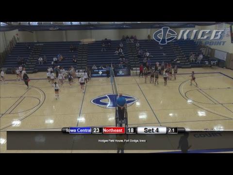 Iowa Central Volleyball: Tritons vs Northeast Community College (9/26/2018)