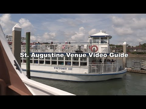 St. Augustine Venue Video Guide - St. Augustine Scenic Cruise