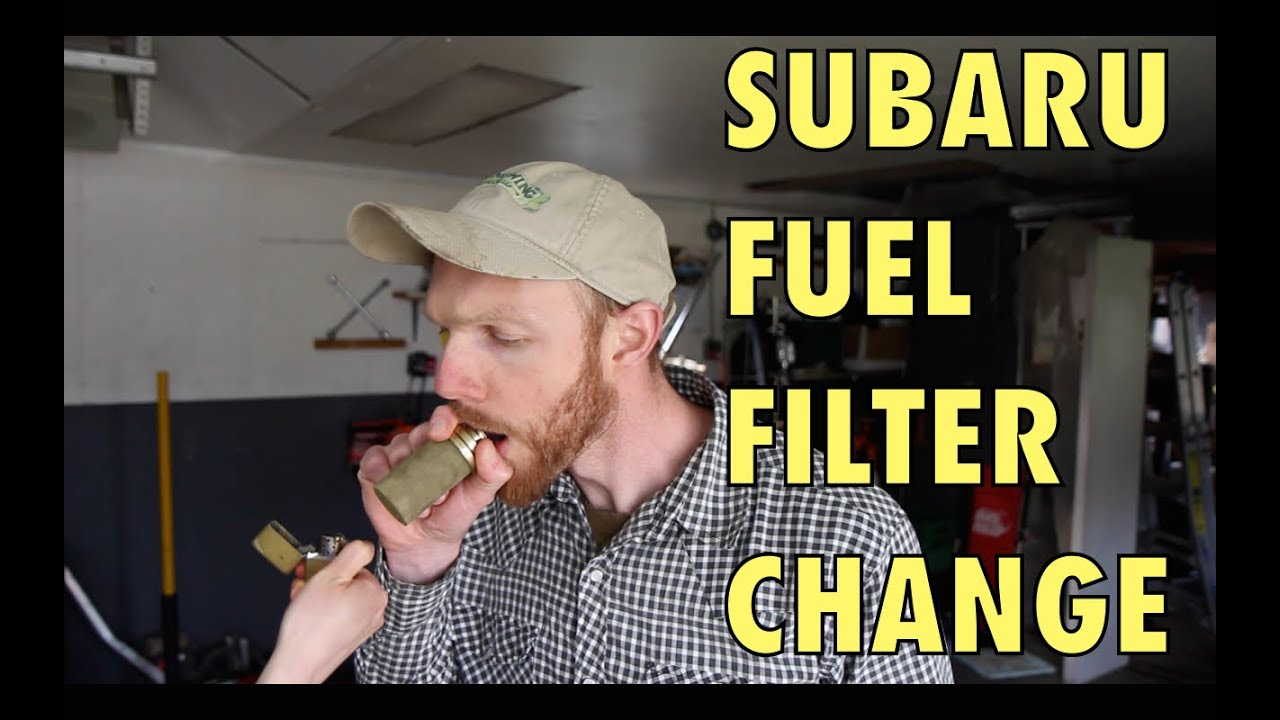 Subaru Fuel Filter Change In Tank Youtube
