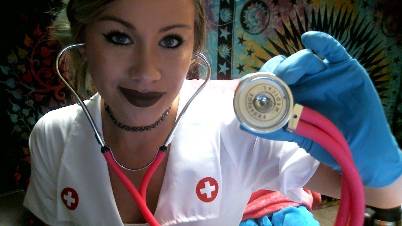 asmrannual physical exam nurse roleplay ���� youtube
