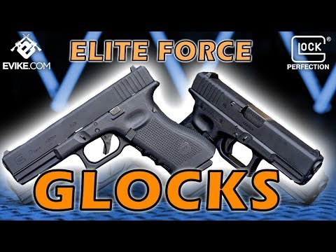 Elite Force Fully Licensed GLOCK 17 Gen 4 Gas Blowback Airsoft Pistol  (Type: Green Gas)