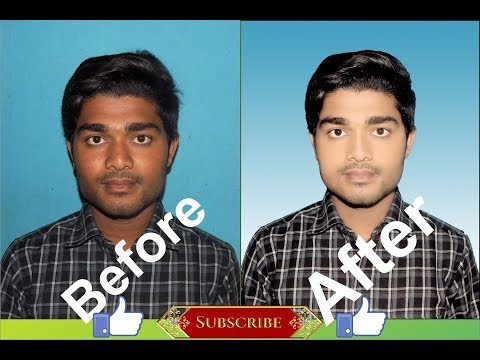 HOW TO CLEAN FACE PHOTOSHOP IN HINDI 2018