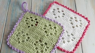 Hi everyone! This week I will be showing you not only how to crochet this Heart Filet wash cloth or generic swatch, but I hope to also help you figure out how to ...