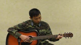 Chút thơ tình người lính biển  guitar cover