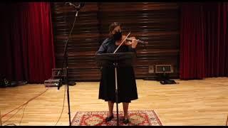 """""""The Voice"""" for Solo Violin"""