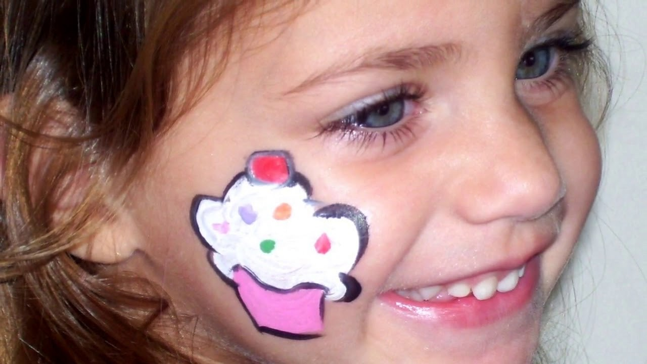 easy face painting cheek designs for beginners youtube