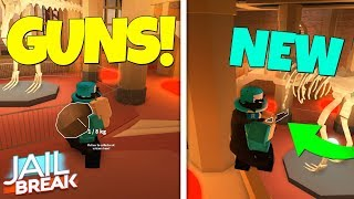 ROB JAILBREAK MUSEUM WITH GUNS! *NEW* GLITCH! (Roblox Jailbreak)