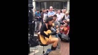 Amazing Guitar Talent | Street Musician Girl