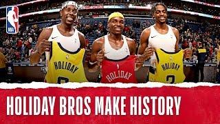 Holiday Brothers Make History!