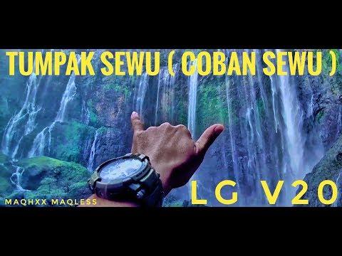 Tumpak Sewu Waterfall ( Coban Sewu ) Vlog - Wonderful Indonesia video record with LG V20
