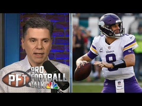 Vikings' Kirk Cousins facing enormous pressure in 2019 | Pro Football Talk | NBC Sports