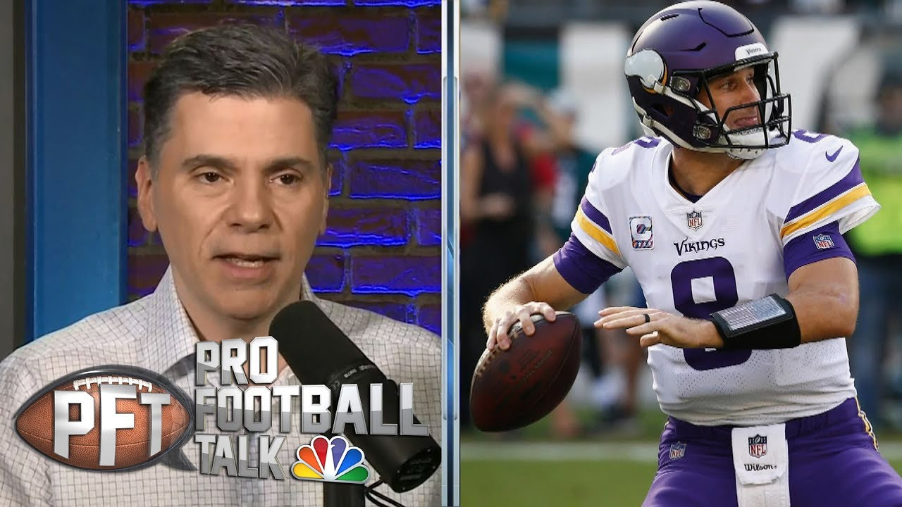 Vikings' Kirk Cousins facing enormous pressure in 2019 | Pro Football Talk | NBC Sports