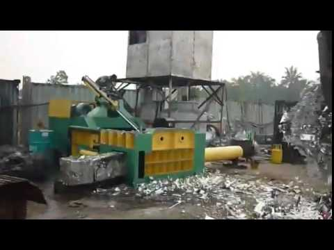 Y81T 1600 Automatic scrap metal baling press in Malaysia