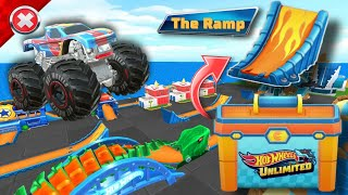Hot Wheels Unlimited New Update !! Unlocked New Track Piece The Ramp