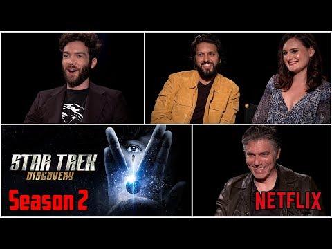 Star Trek Discovery: Ethan Peck, Anson Mount, Mary Chieffo & Shazad Latif on Season 2