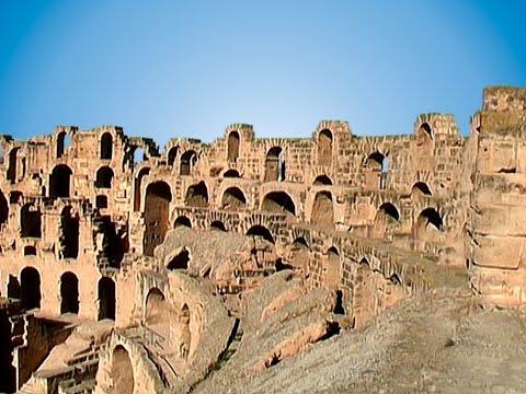 Tunesien - Mahdia - El Djem Amphitheater