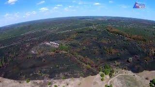 Зона вокруг Чернобыля после пожара (видео с дрона)(Так выглядит сгоревшая зона около Чернобыльской АЭС с высоты птичьего полета., 2016-07-17T05:46:47.000Z)
