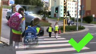 Bezpieczna droga do szkoły - materiał edukacyjny