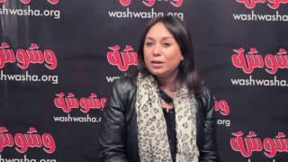 بالفيديو.. إنجي علي:' نفسي أعمل حلقة عن الساحر'