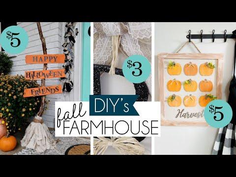 Fall Farmhouse DIY | EASY FARMHOUSE DIYs | Witches Broom DIY
