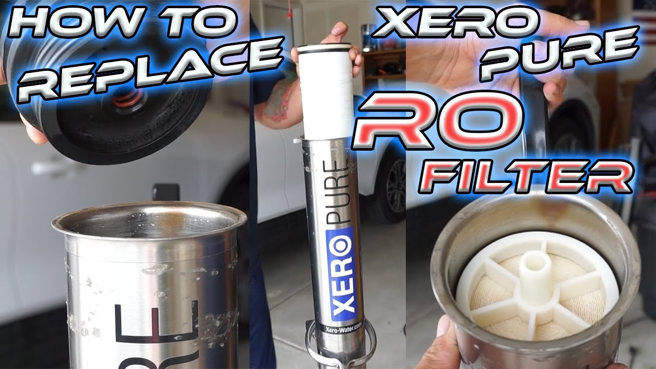 HOW TO REPLACE YOUR OLD RO FILTER | XERO PURE WATER PURIFICATION SYSTEM