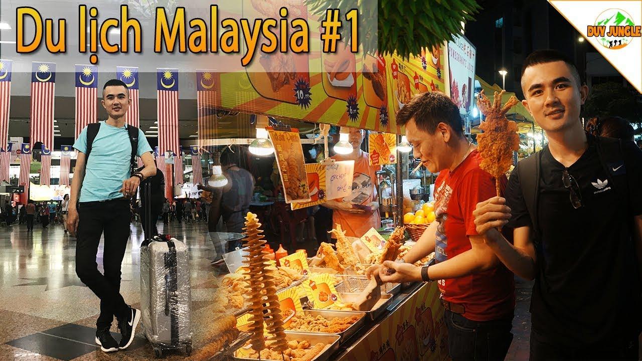 Du lịch Malaysia Kuala Lumpur | Ngày 1 | Nhập Cảnh Ở Sân Bay KLIA | Duy Jungle