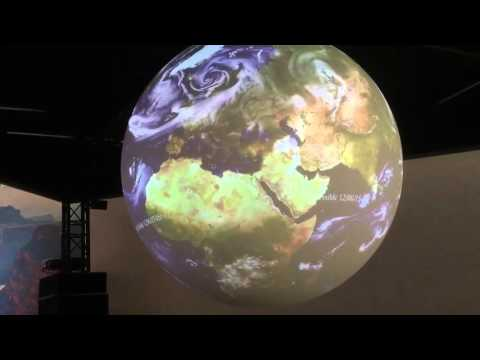 Climate Science in 3D on a Sphere