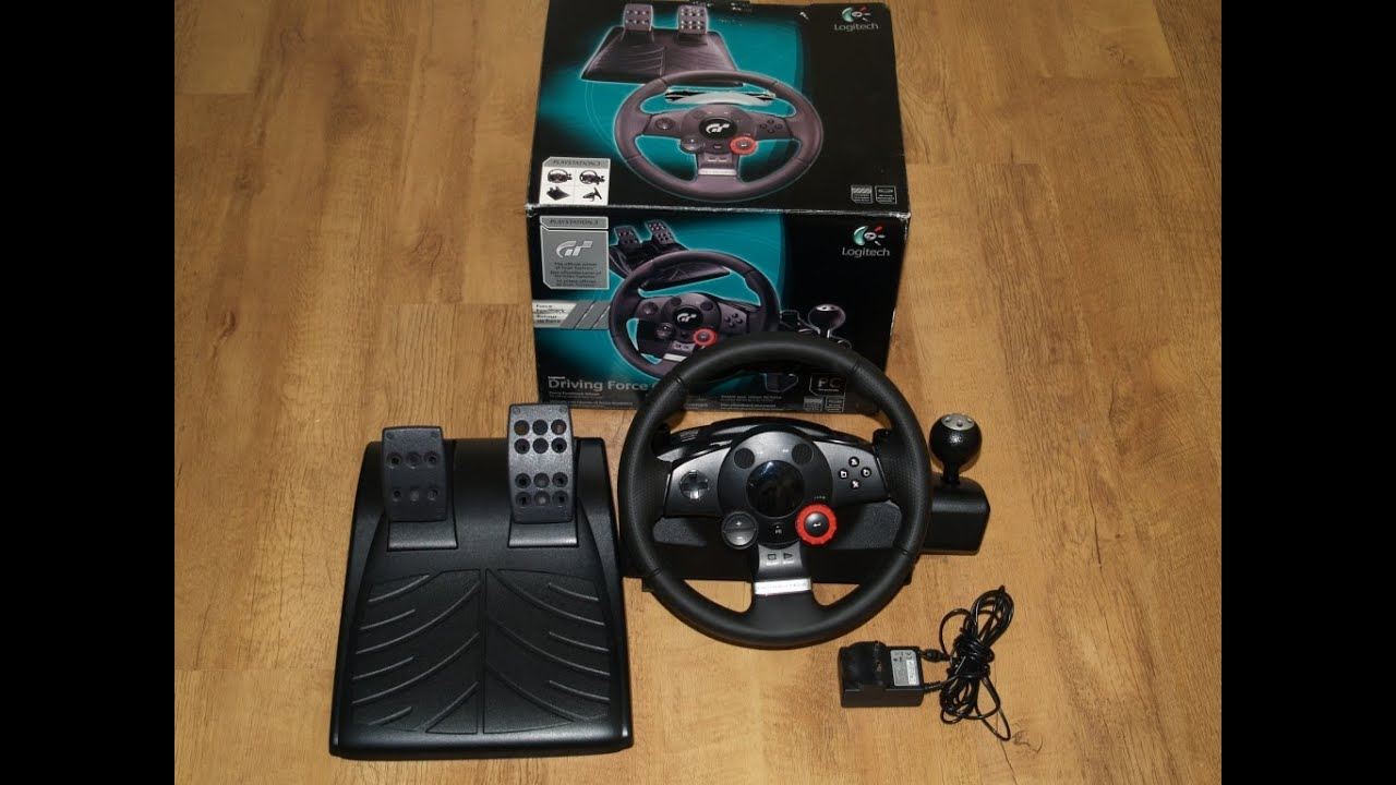 Unboxing Kierownicy Logitech Driving Force Gt