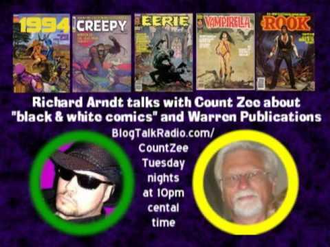Richard Arndt talks Warren Publishing and more!